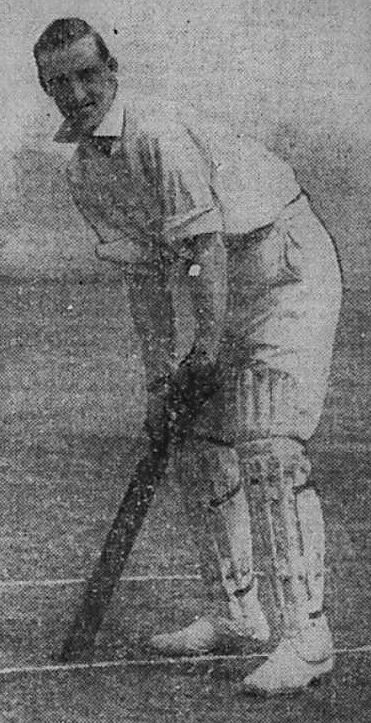 1921 10 18 Leslie Hosier cricket