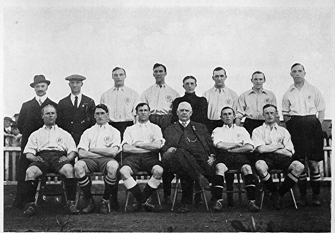 England v Sweden 12th June 1914