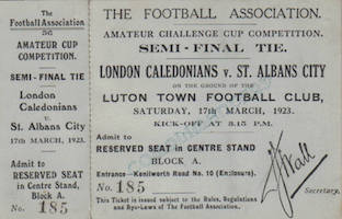 1923 SAC v London Caledonians small