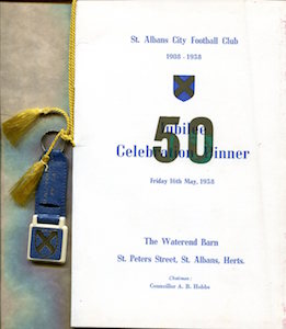 1957 58 Jubilee menu small