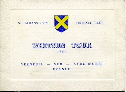1960 61 Whitsun Tour France 1 small