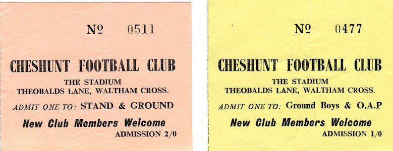 1966 67 Cheshunt 28 02 1967 HCC small