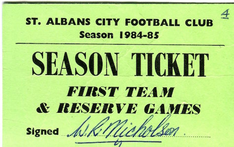1984 85 Season Ticket small