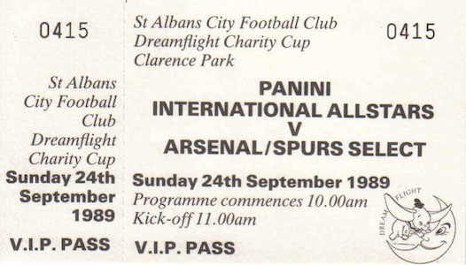 1989 90 Panani tickets 2 small