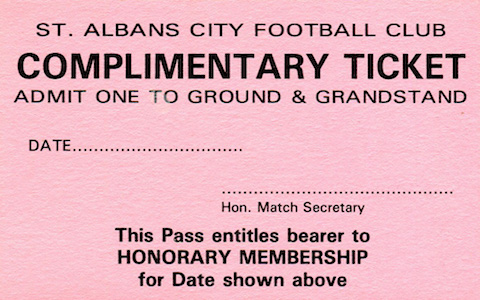 1990 91 Comp ticket 2 small