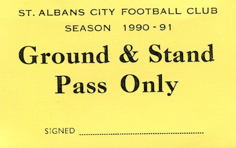 1990 91 Ground Stand small