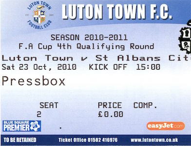 2010 11 Luton Town away small